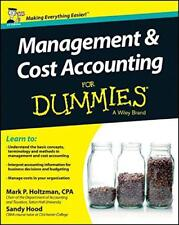 Gestión y Cost Accounting For Dummies (For Dummies (Negocios & Personal Aleta
