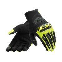 Guanti moto Dainese Bora nero giallo black yellow fluo gloves