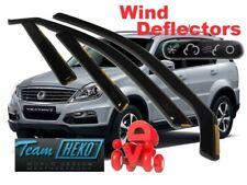SSANGYONG REXTON I  2005 - 2017  5.doors  Wind deflectors  4.pc  HEKO  28903