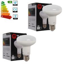 4 x R80 10W E27 Screw Cap ES LED Reflector Cool White Energy Saving Light Bulb