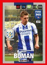 FIFA 365 2017 -Panini Adrenalyn- Card NORDIC EDITION n. 269 - BOMAN -GOTEBORG