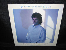 GINO VANNELLI In The Name Of Money (1987 U.S. Gold Foil Stamped Promo 12inch)