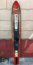 "HO OBRIEN WIDE RIDE 65"" WATER SKI W/ RTS BOOTS 3,600 Square Centimeters"