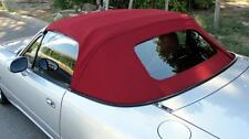 MGF MG TF Mx5 MK2 Burgundy Mohair Hood with Glass Window