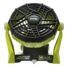 Hybrid Tool Portable Air Cooling Fan 18 Volt 267 CFM Floor Wall For Small Room