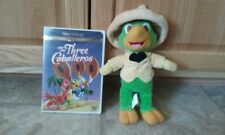 Walt Disney Gold Collection The Three Caballeros (DVD) & Jose Carioca plush