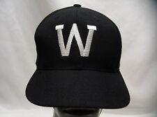 W LOGO - YOUTH SIZE - ADJUSTABLE SNAPBACK BALL CAP HAT!