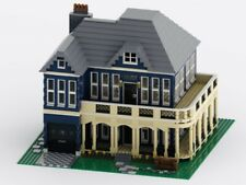 LEGO Custom Huge House Modular MOC INSTRUCTIONS AND PARTS LIST ONLY PDF