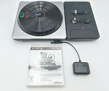 Playstation PS3 Bundle DJ Hero 2 Game Turntable and Dongle Receiver
