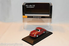 . MINICHAMPS PORSCHE 356 CARRERA 2 1963-64 RED MINT BOXED