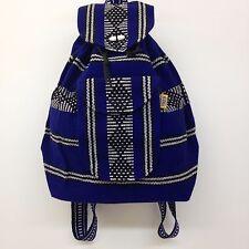 Authentic RASTA Bag Beach Hippie Baja Ethnic Backpack Made in Mexico Unisex R27