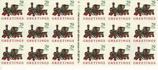 GREETINGS ATM STAMP BOOKLET PANE -- USA #2719 29 CENT CHRISTMAS