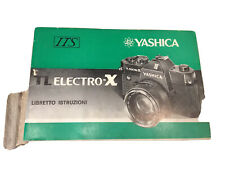 Yashica tl electro x Libretto istruzioni macchina fotografica