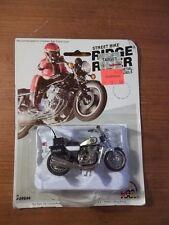 VINTAGE STREET BIKE RIDGE RIDER Die-cast METAL KAWASAKI 900 POLICE MOTORCYCLE