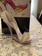 Rare Just The Right Shoe By Raine Sheer Delight - Nib