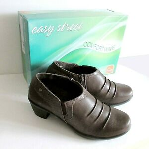 Easy Street Womens CLEO Brown / Snake Boots Comfort Wave Sz 8 New In Box FREE SH