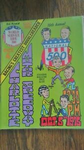 National 500 Charlotte Motor Speedway 1975 16 Annual Souvenir Program