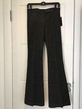 Theory Black Stretch Denim Trousers Flare Leg 00 0 XXS XS New NWT