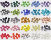 20Pcs Good Quality Czech Crystal Rhinestones Pave Clay Round Disco Ball Beads