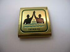 Vintage BSA Boy Scouts Scarf Neckerchief Slide SWIMMING Award