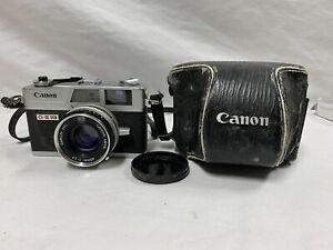 Canon Canonet QL17 G-III QL 35mm Film Camera