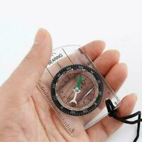 Scouts Military Compass Scale Ruler Baseplate Mini Compass Camping For Hiki O0Y9
