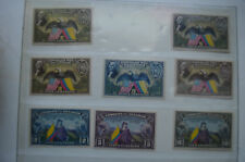 Lot of (8) Ecuador 150 Year Usa Commemorative Centavos Stamps
