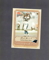 2002 Fleer Platinum Rod Smart #210 Rookie Card of HE HATE ME from the XFL