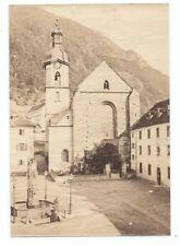 D010 Photographie vintage original Suisse 1873 Albuminé Albumen