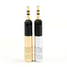 1 Set Male 2.5mm Jack Plug Audio Solder Headphone For Sennheiser HD598 558 G/S