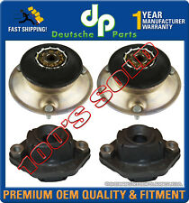 Front + Rear Lower Shock Strut Mount Mounts Bearing for BMW E82 E88 E90 SET OF 4