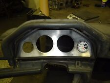 BMW E30 (1984-1991) Cluster Gauge Holder: Two 3.375 and Two 52mm Black