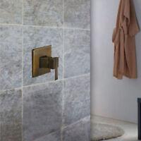 Wall Mount Antique Brass Single Handle Shower Faucet Control Vale Mixer Tap