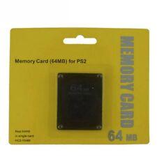 Nuova Scheda Di Memoria Da 64 Mb Per Playstation 2 Gioco Per Console Ps2 R8H4