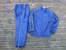 Kids Nike Tracksuit Boys Junior Football Sports Full Tracksuits Bottoms Top NAVY