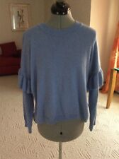 93cc93a7 women Hugo Boss sweater size M light blue