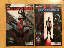 Spider-Men II 1 Acuna variant & 2nd print variant VF/NM to NM set Marvel Comics