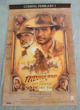 Indiana Jones And The Last Crusade movie poster Harrison Ford Drew Struzen