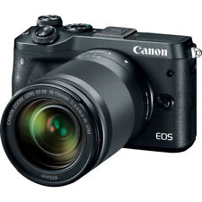 New CANON EOS M6 Mirrorless Digital Camera with 18-150mm Lens - BLACK