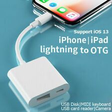 OTG Digital Camera Adapter For iPad iPhone Lightning to USB 3.0 Cable Converter