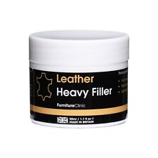 More details for leather heavy repair filler: for filling holes, scuffs, scratches, cracking etc