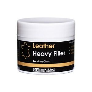 Leather Heavy Repair Filler: For Filling Holes, Scuffs, Scratches, Cracking Etc