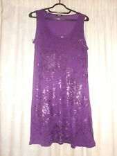 Beautiful Blackcurrant Straight Dress by M & Co Size 14 BNWT RRP £26.00