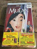 Walt Disney Masterpiece Mulan - (VHS, 1999) Clamshell Brand New Sealed