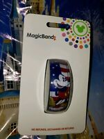 Disney Parks MICKEY MOUSE USA FLAG Purple Magic Band Magicband 2 New Americana