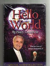 PAUL CROUCH SR Hello World (2008, 6 CD) BRAND NEW: Efrem Zimbalist Jr.: TBN