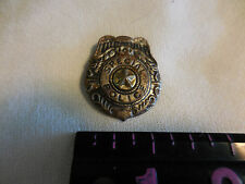 Vintage 1960's-70's Tin Special Police Badge Made in Post-war Japan