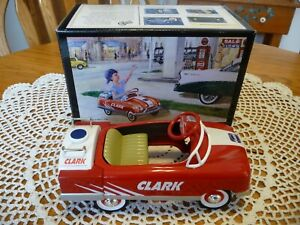 Clark 1948 BMC Oil Tanker Pedal Car. First Edition 1/6 Scale Bank with Key
