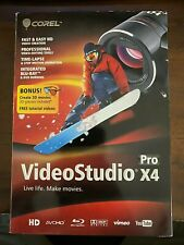 Corel VideoStudio Pro X4 Retail Box - Windows XP, Vista, 7, 10 - with 3D glasses