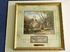 """Thomas Kinkade Prints """"Morning Glory Cottage"""" & Simpler Times are Better Times"""